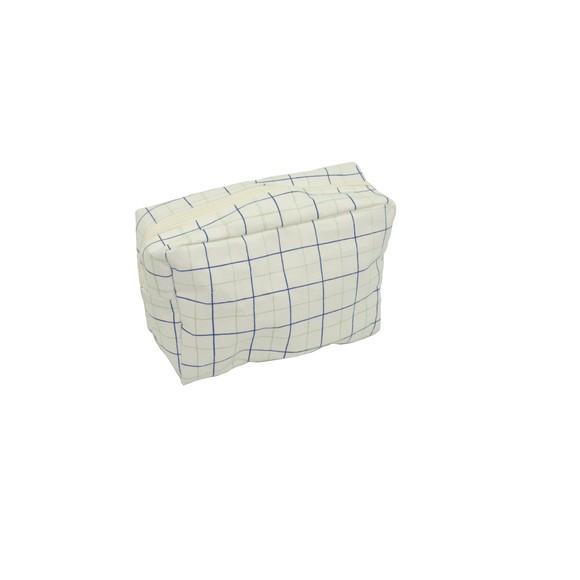 Achat en ligne Trousse de toilette enduite Carreaux 20x8x14cm