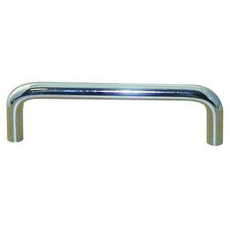 Poignée fil métal chrome 10,5cm entraxe 9,6cm