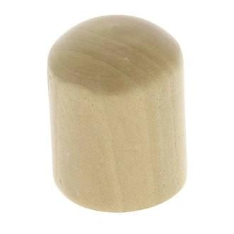 Bouton cylindre bois