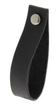 Achat en ligne Poignée/ Tirette cuir noir