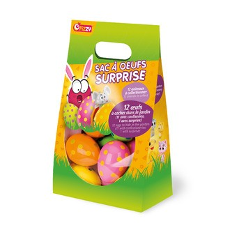 Sac 12 œufs surprises