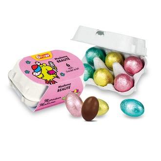 Boîte 6 œufs surprises