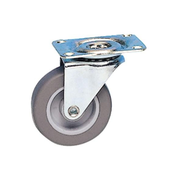 Roulette ameublement à platine pivotante 5,4cm charge 15kg