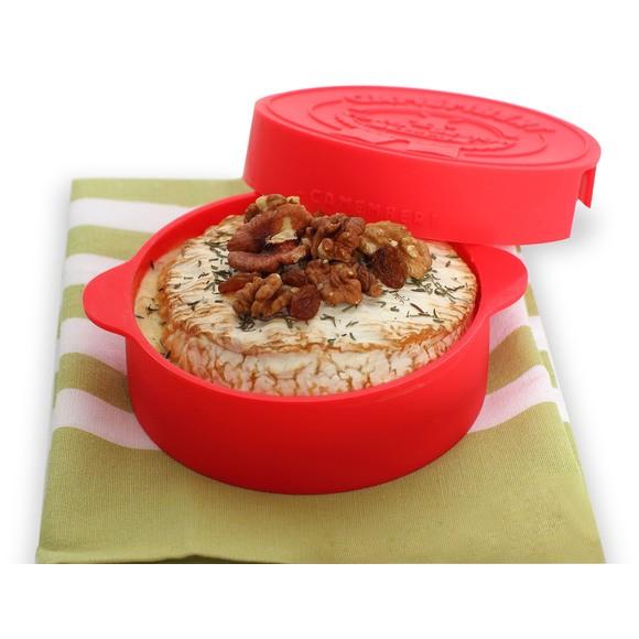 Achat en ligne Cuit camembert en silicone rouge