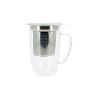 YOKO DESIGN - Mug avec infuseur Tastea blanc 450ml