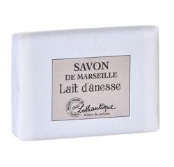 Achat en ligne Pain de savon de marseille parfum Lait d'ânesse 100g