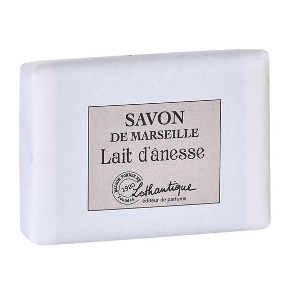 Pain de savon de marseille parfum Lait d'ânesse 100g