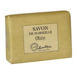 Achat en ligne Pain de savon de marseille parfum Olive 100g