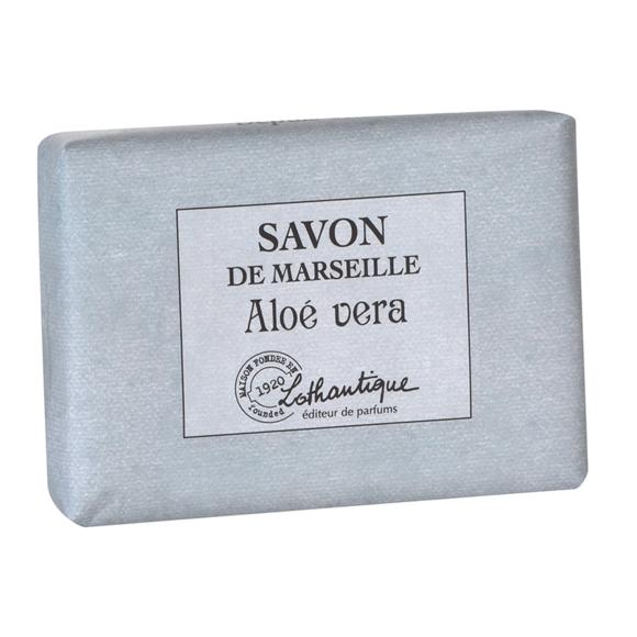 Pain de savon de marseille parfum Aloe Vera 100g