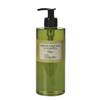 Distributeur de savon liquide de marseille parfum Olive 500ml