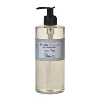 Distributeur de savon liquide de marseille parfum Aloe Vera 500ml