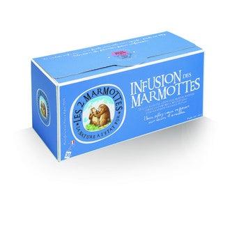 LES 2 MARMOTTES - Infusion des marmottes 46g, 30 sachets
