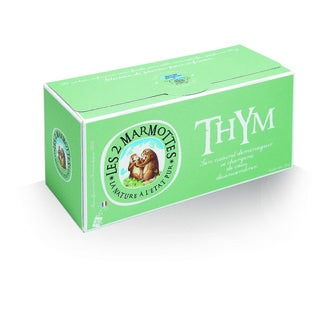 LES 2 MARMOTTES - Infusion thym 35g, 30 sachets