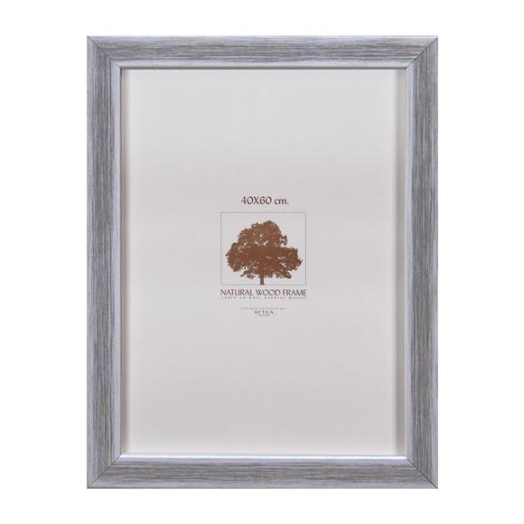 Achat en ligne Cadre photo simplicite argent brosse 40x60cm