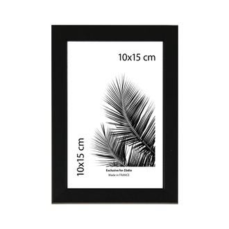 Cadre basik noir 10x15cm