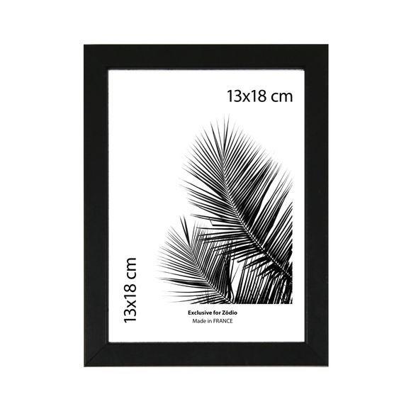 Cadre basik noir 13x18cm