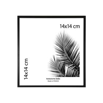 Cadre basik noir 14x14cm