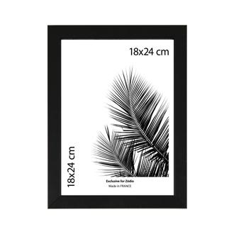 Cadre basik noir 18x24cm