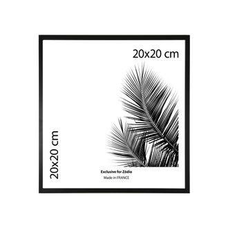 Cadre basik noir 20x20cm