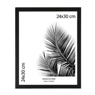 Cadre basik noir 24x30cm