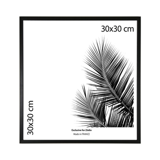 Cadre basik noir 30x30cm