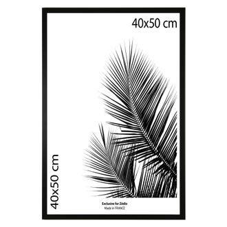 Cadre basik noir 40x50cm