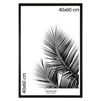 Cadre basik noir 40x60cm