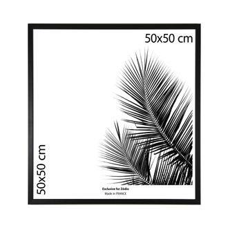 Cadre basik noir 50x50cm