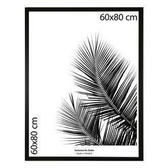 Cadre basik noir 60x80cm