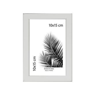 Cadre basik blanc 10x15cm