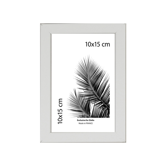 Achat en ligne Cadre basik blanc 10x15cm