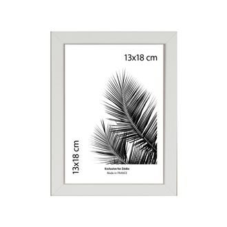Cadre basik blanc 13x18cm