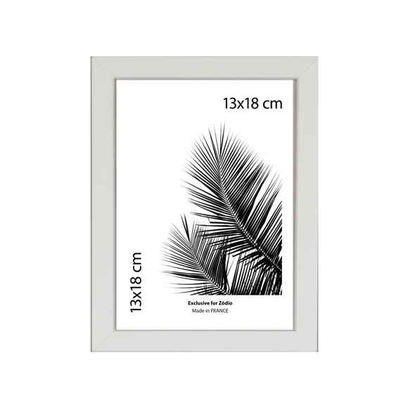 Achat en ligne Cadre basik blanc 13x18cm