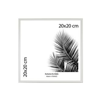 Cadre basik blanc 20x20cm
