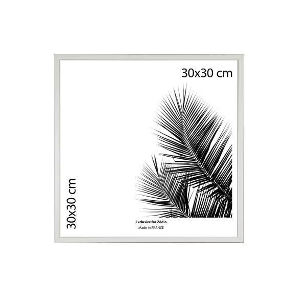 Cadre basik blanc 30x30cm