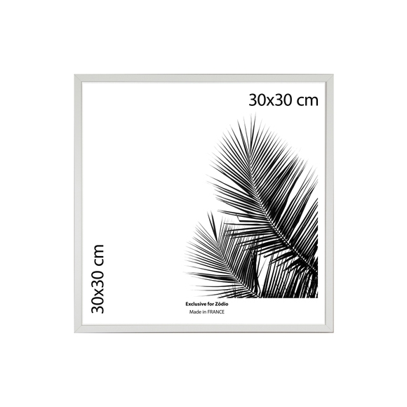 Achat en ligne Cadre basik blanc 30x30cm