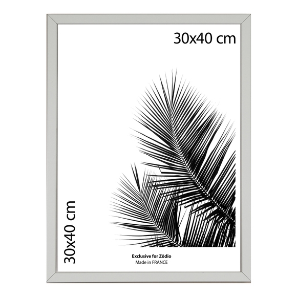 Achat en ligne Cadre basik blanc 30x40cm