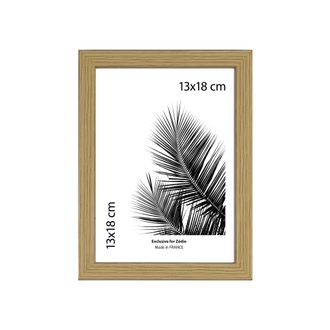 Cadre basik naturel 13x18cm