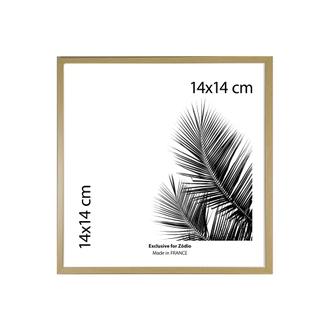 Cadre basik naturel 14x14cm