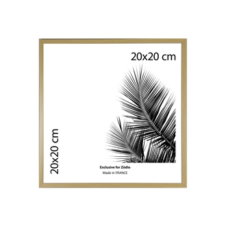 Cadre basik naturel 20x20cm