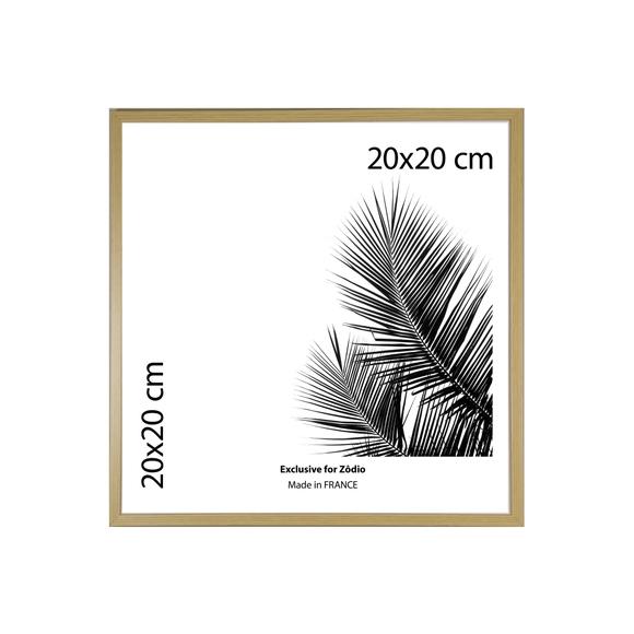 Achat en ligne Cadre basik naturel 20x20cm