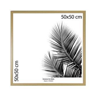 Cadre basik naturel 50x50cm