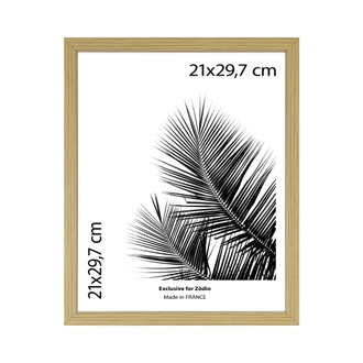 Cadre basik naturel 21x29,7cm