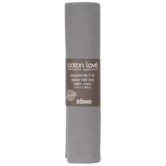 Coton gris clair coupon 100x140cm