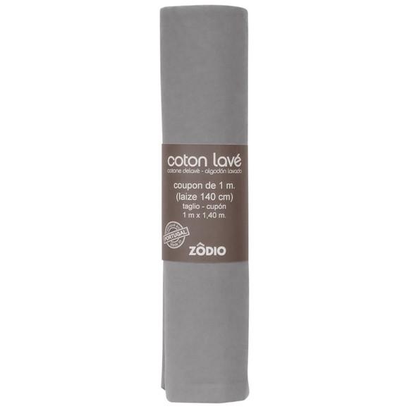Achat en ligne Coton gris clair coupon 100x140cm