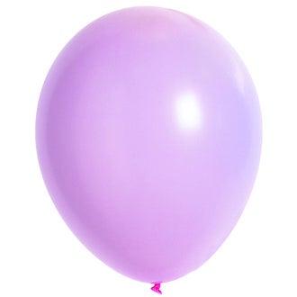 Set de 10 ballons à gonfler rose diamètre 25cm