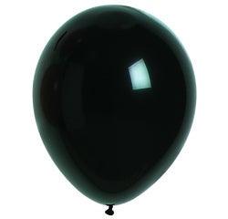 Achat en ligne Set de 10 ballons à gonfler noir diamètre 25cm