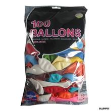 Achat en ligne Set de 50 ballons à gonfler multicolore diamètre 25cm