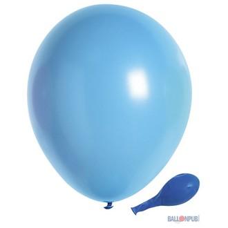 Set de 10 ballons à gonfler bleu pale diamètre 25cm