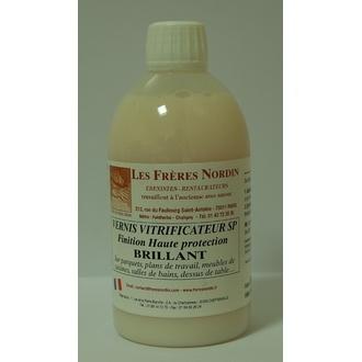 FRERES NORDIN - Vernis vitrificateur brillant en bouteille 500ml